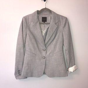 The Limited gray blazer